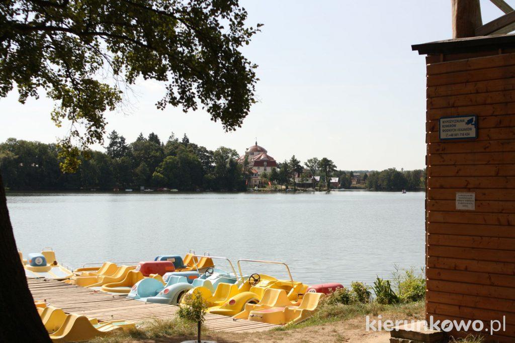 lubniewice rowerki plaża atrakcje w lubniewicach plaża w lubniewicach Jezioro Lubiąż