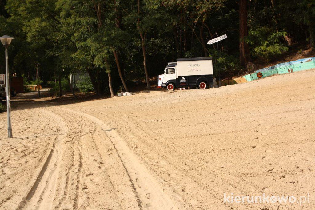 plaża lubniewice plaża w lubniewicach