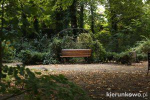 lubniewice laweczka miłości Park Miłości w Lubniewicach szlak michaliny wisłockiej w lubniewicach