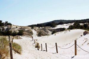 wydma czołpińska i latarnia morska w Czołpinie