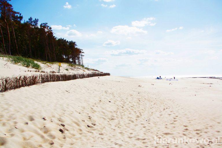 plaża w rowach pobyt w rowach