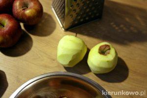 mus jabłkowy jabłka prażone