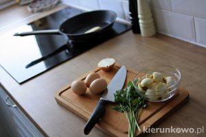 jajecznica z maślakami