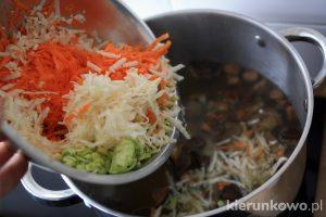 Zupa grzybowa ze świeżych grzybów