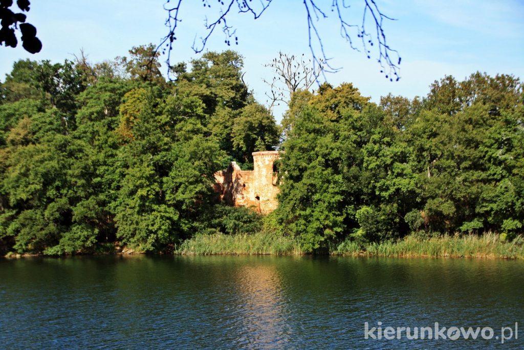 Ruiny zamku Klaudyny Potockiej