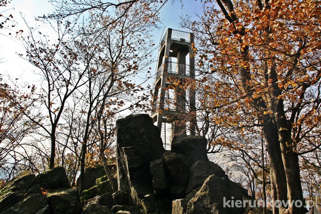 wieża widokowa na Ślęży
