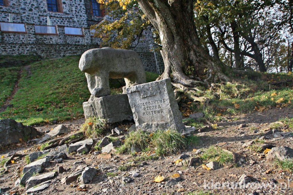 Rzeźby kultowe na Ślęży