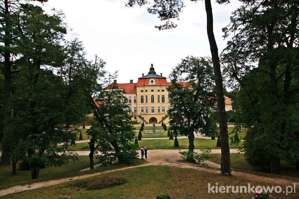 Ogrody pałacowe w Rogalinie rogalin