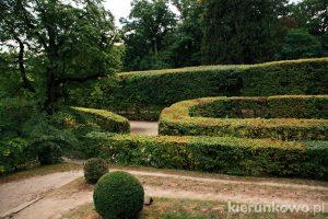 Ogrody pałacowe w Rogalinie