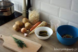 zupka ogórkowa dla dzieci