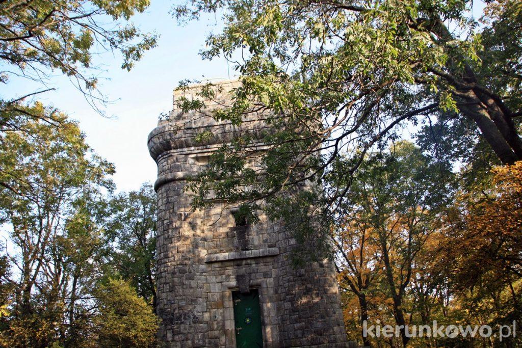 Wieżyca w Masywie Ślęży