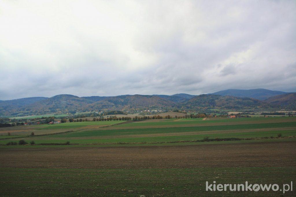 Punkt widokowy w Ostroszowicach mikropodróż po Dolnym Śląsku