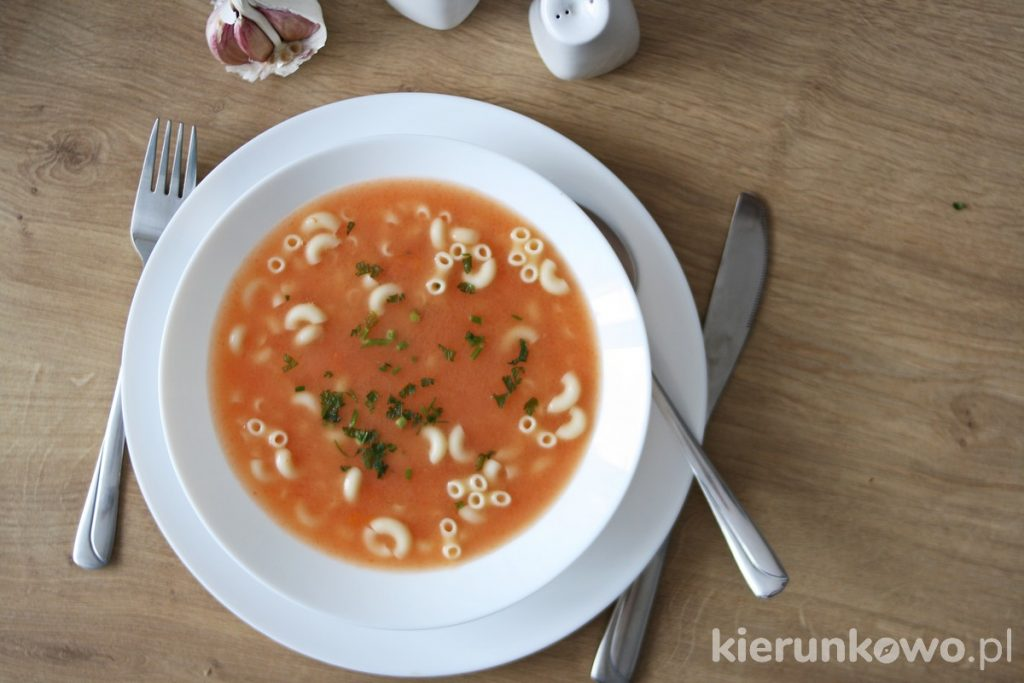 zupa pomidorowa pomidorówka