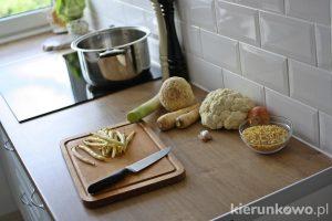 krem z białych warzyw dla dzieci