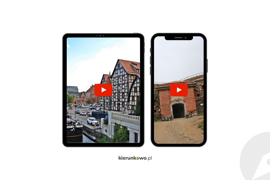 wirtualne zwiedzanie w polsce na youtube