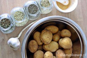 Pieczone ziemniaki na obiadu