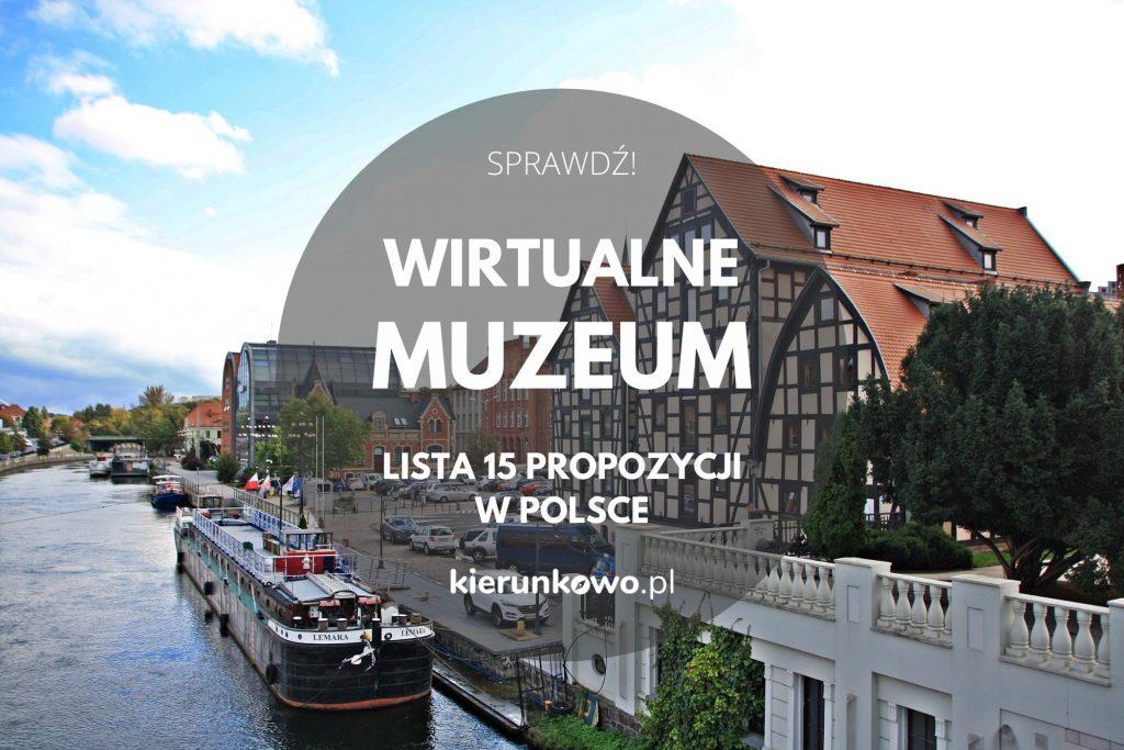wirtualne muzeum w polsce