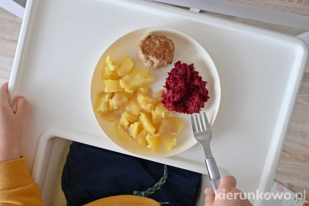 obiad dla dwulatka