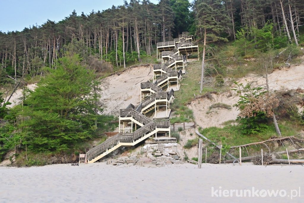 schody na kawczą górę atrakcje w międzyzdrojach atrakcje międzyzdroje