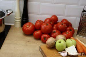 domowy ketchup z pomidorów