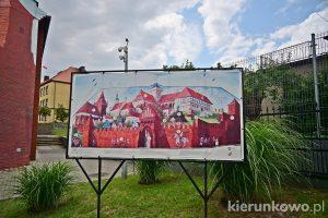 Mural historyczny w Pyzdrach
