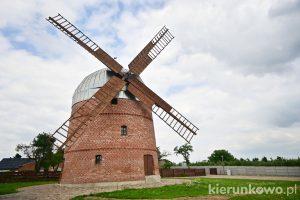 wiatrak holenderski w pyzdrach holender ciekawe miejsca w pyzdrach