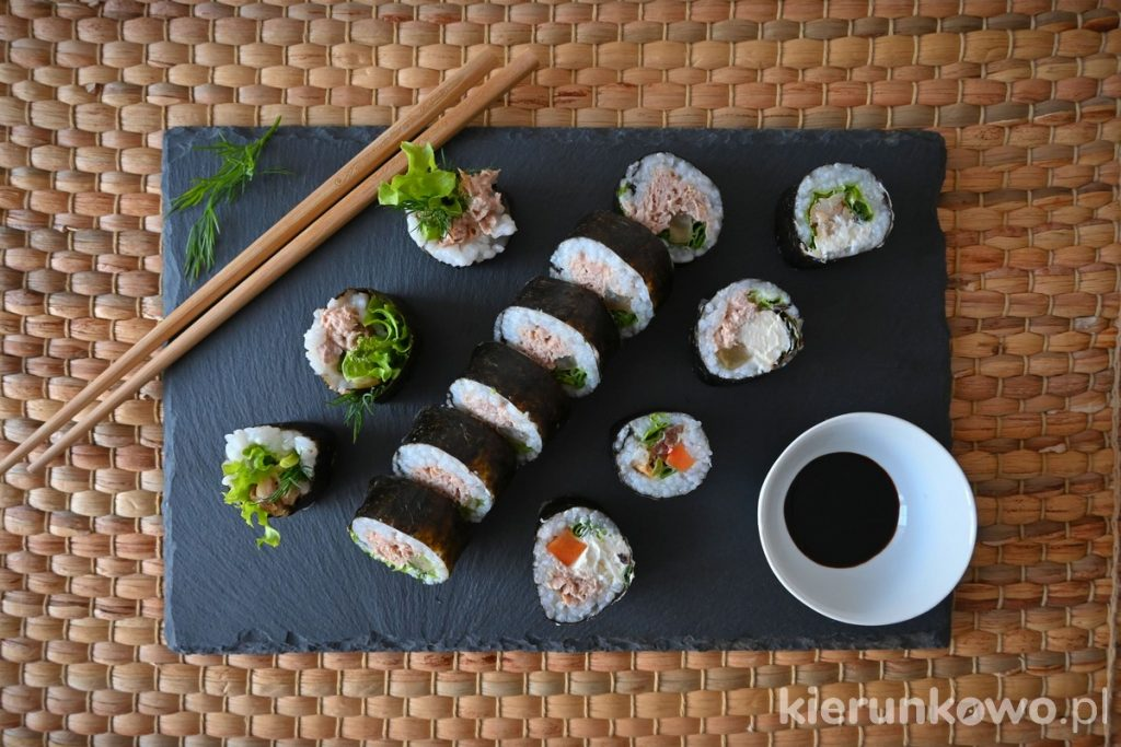 domowe sushi przepis prosty