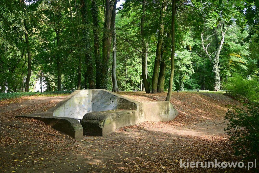 schron przeciwlotniczy w parku sołackim