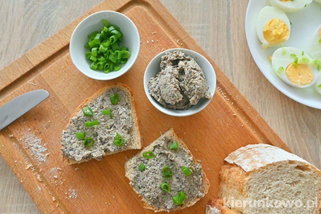 pasta z pieczarek do chleba